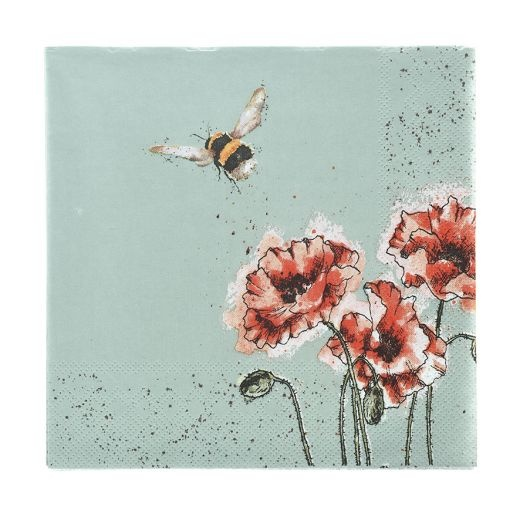 Wrendale Designs 'Flight of the Bumblebee' Luncheon Napkins
