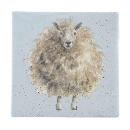 Wrendale Designs 'The Woolly Jumper' Luncheon Napkins