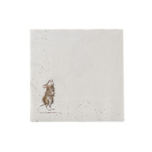 Wrendale Designs 'Country Mice' Cocktail Napkins