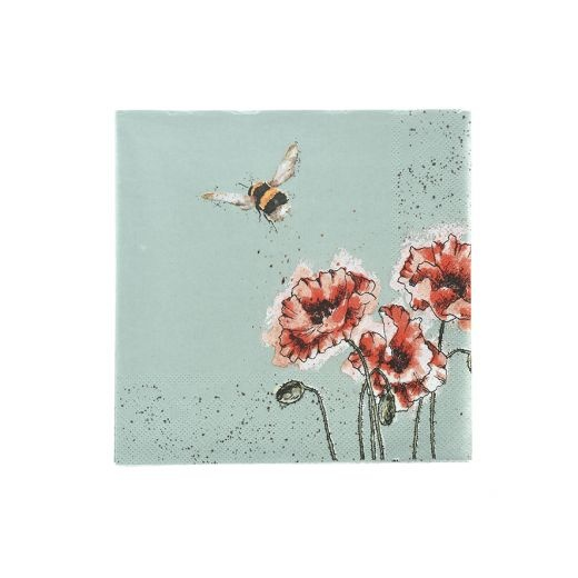Wrendale Designs 'Flight of the Bumblebee' Cocktail Napkins