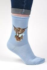 Wrendale Designs 'Daisy Coo' Socks