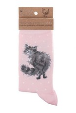 Wrendale Designs 'Glamour Puss' Socks