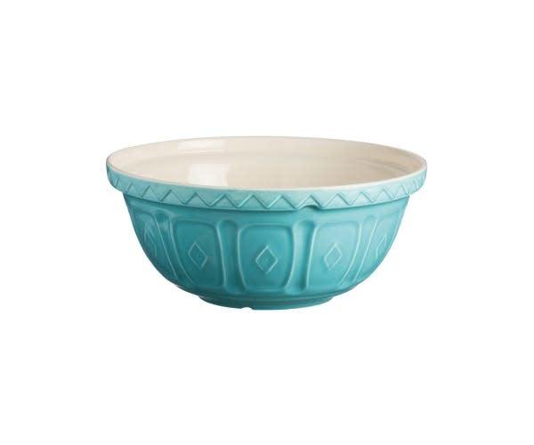 "Turquoise Mixing Bowl - 26cm /10"""