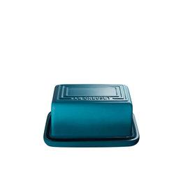 Le Creuset Butter Dish 454gm / 1lb - Teal