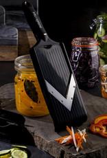 Microplane Adjustable V-Slicer w/Julienne Blade Hand Held