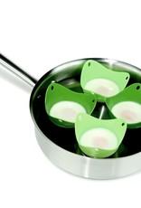 Fusionbrands PoachPod S/2 - Green Silicone