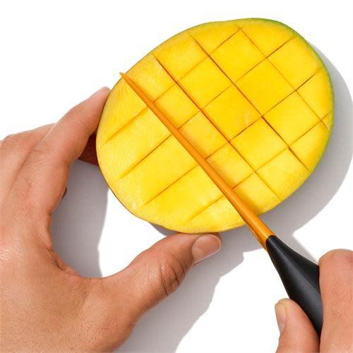 """Danesco GG Mango Slicer w/Scoop 25cm / 10"""""""