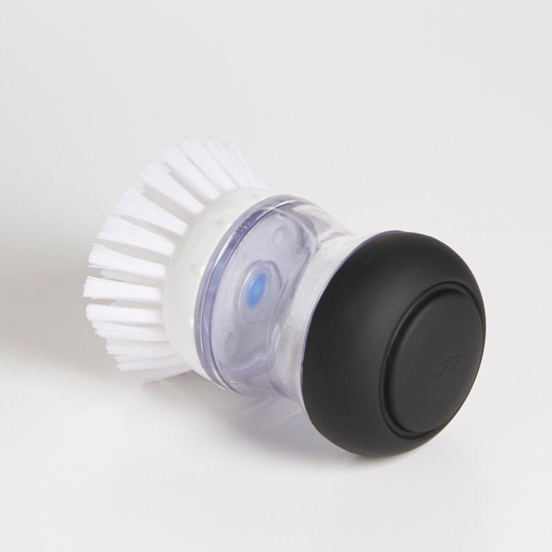 OXO GG Soap Dispensing Palm Brush BK