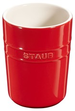 """Staub Utensil Holder 4.3"""" / 11cm D - Cherry"""