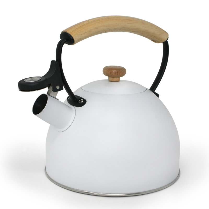 Cafe Culture 'LYS' Whistling Kettle 2.5L White