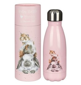 """Wrendale Designs """"Piggy in the Middle"""" Small Water Bottle"""