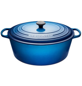 Le Creuset Oval French Oven  'Goose Pot' 13.9L - Blueberry