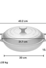 Le Creuset Shallow Braiser 3.5L - Artichaut