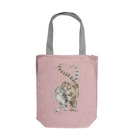 Wrendale Designs 'Feline Good' Canvas Tote Bag
