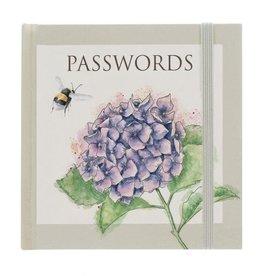 Wrendale Designs 'Hydrangea' Password Book