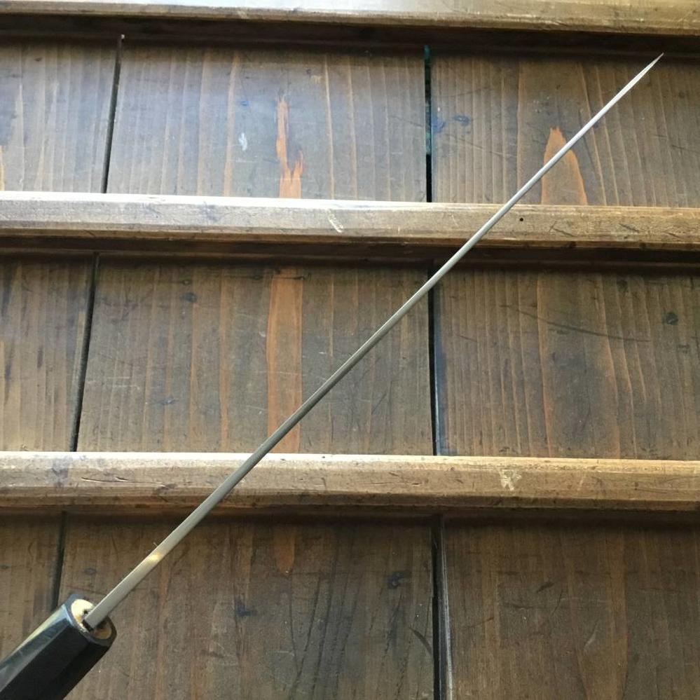 Yoshikazu Ikeda Shirogami 2 240mm Gyuto Iron Clad Oct Ho