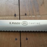 "K Sabatier / Tartine / Bernal / 12"" Serrated Slicer Stainless Steel"