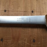 "N Schrieber 6"" Flex Boning Knife Carbon Steel Solingen New Vintage NOS"