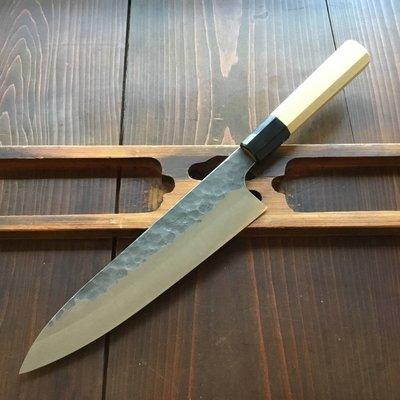 Shi Han 210mm Gyuto Kurouchi 52100 Ho Octogan