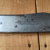 """Geo Wostenholm 9"""" Carving Knife Sheffield 1890's-1920's"""