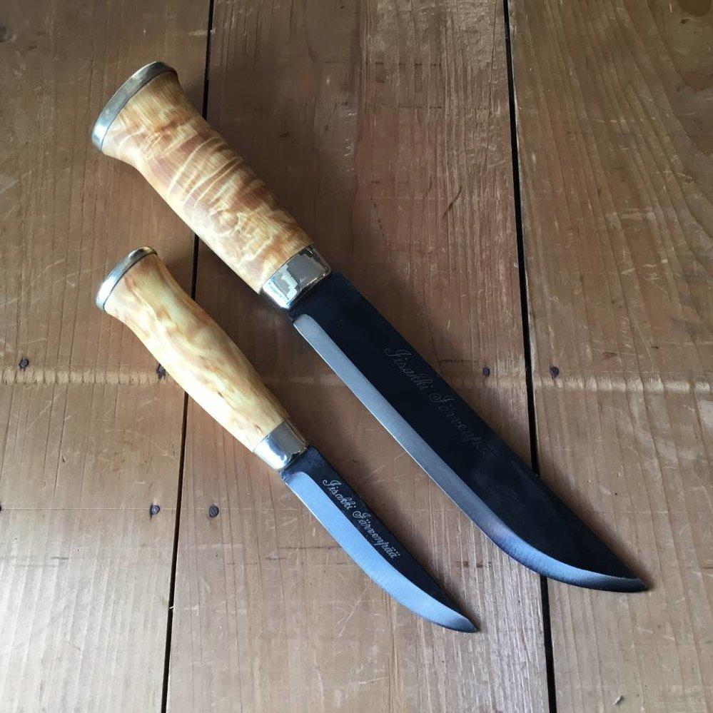 Iisakki Jarvenpaa 'Tupaleuku' Double Leuku Saami Style