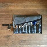 EvenOdd Tool Roll Waxed Canvas/ Bike Tube Charcoal