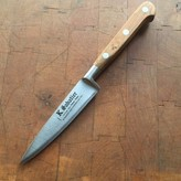 "K Sabatier 4"" Paring 'Authentique' Carbon Steel Olive Handle"