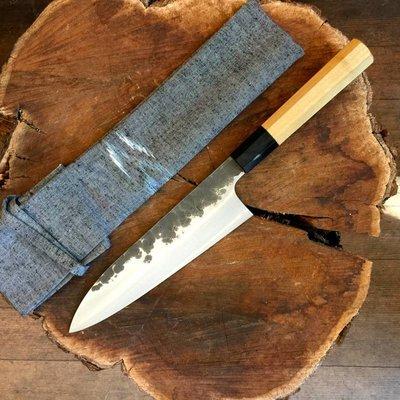 Shi Han 180mm Gyuto Kurouchi 52100 Ho Octogan