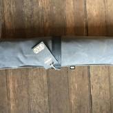 EvenOdd Waxed Canvas/ Bike Tube Knife Roll w/ Strap Charcoal