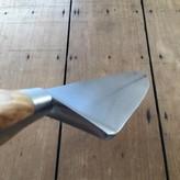 """K Sabatier 10"""" Chef 'Authentique' Carbon Steel Olive Handle"""