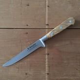 "K Sabatier 5"" Boning 'Authentique' Carbon Steel Olive Handle"