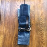 Ubi-IND Blue Denim Knife Roll