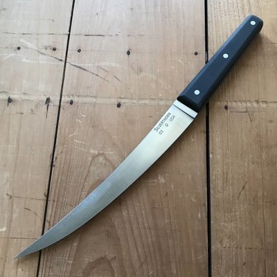 "Silverthorn 8"" Trimming Scimitar O1 Carbon Steel Black Micarta Handle"