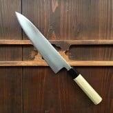 Wakui 210mm Gyuto Shirogami #2 Ho Octogan