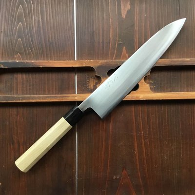 Wakui 240mm Gyuto Shirogami #2 Ho Octogan