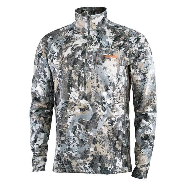 Sitka Heavyweight Zip-T Elevated II Pullover-1