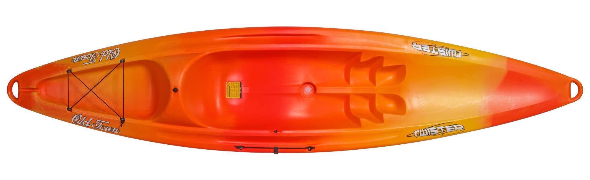 Old Town Twister Sit on Top Kayak Orange-1