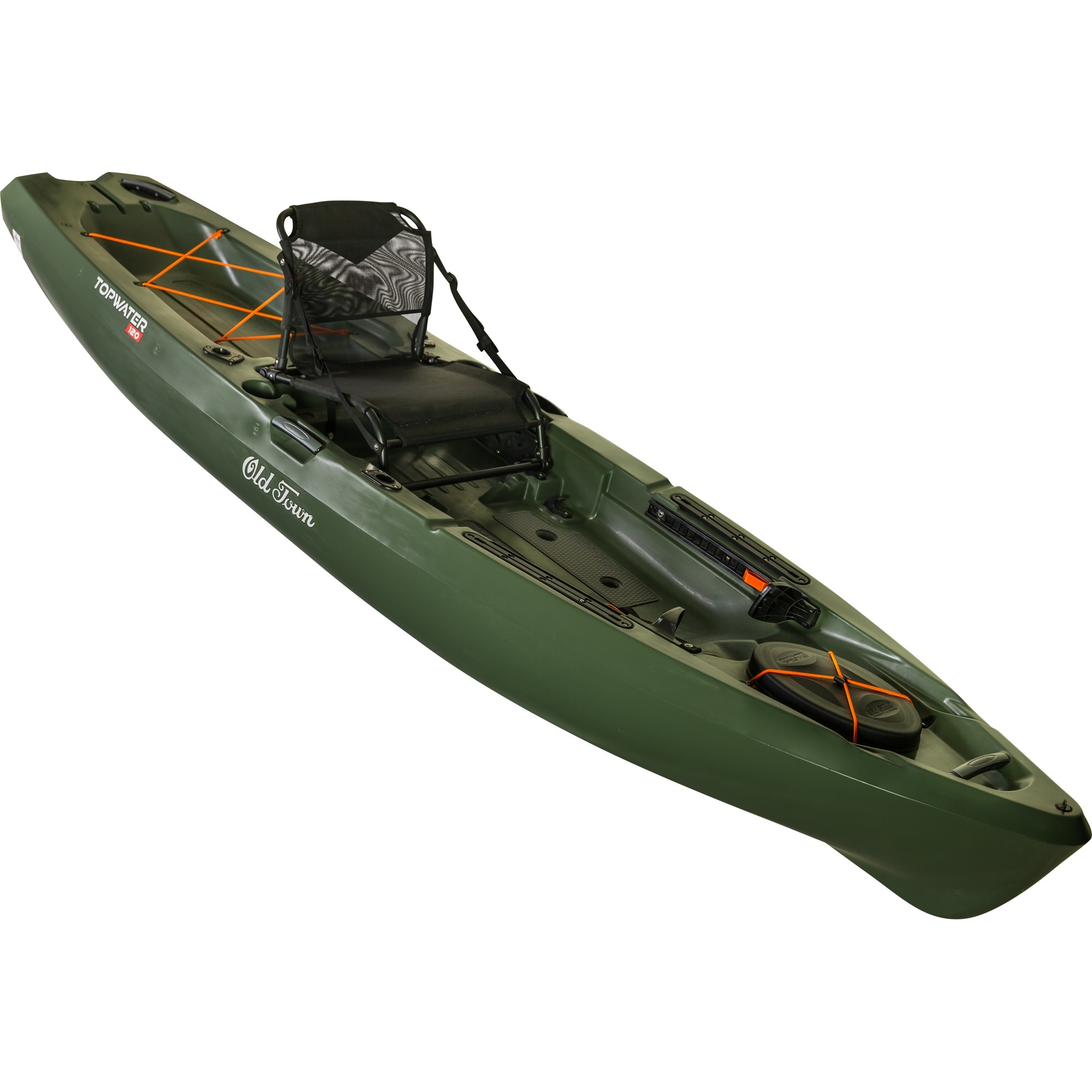 Old Town Topwater Sit on Top Kayak Olive 106-1
