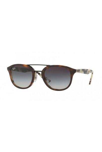 58 Ray Ban Tortoise Grey Lenses