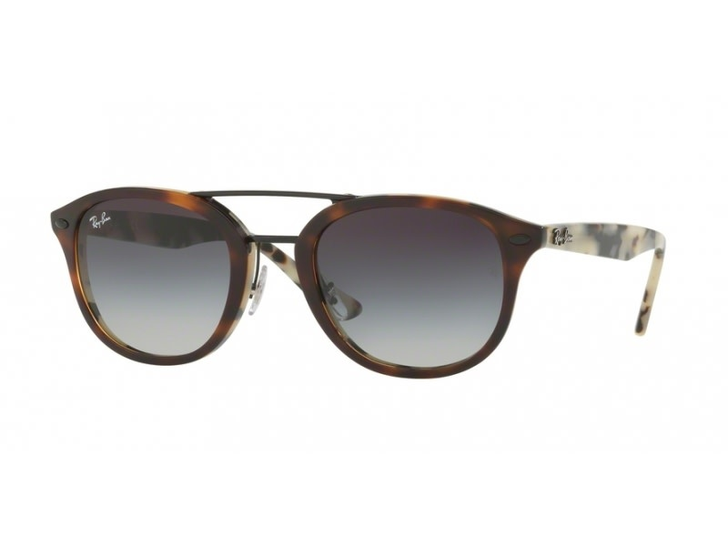 58 Ray Ban Tortoise Grey Lenses-1