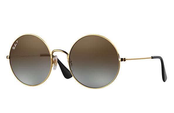 24 Ray Ban Gold Polarized-1
