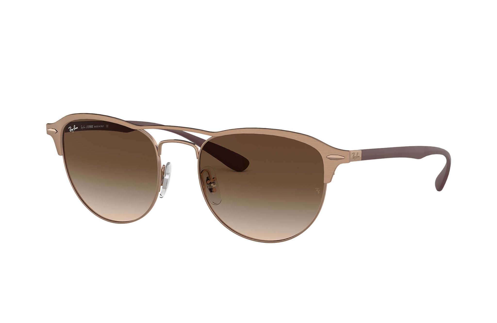 43 Ray Ban Light Brown/Brown-1