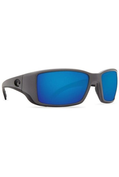 58 Costa Blackfin Matte Black/Blue