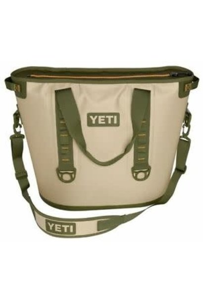 Yeti Hopper 40 Field Tan/Blaze Orange