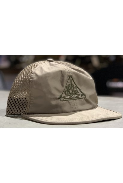 Delta Outdoors Crushable Khaki Cap
