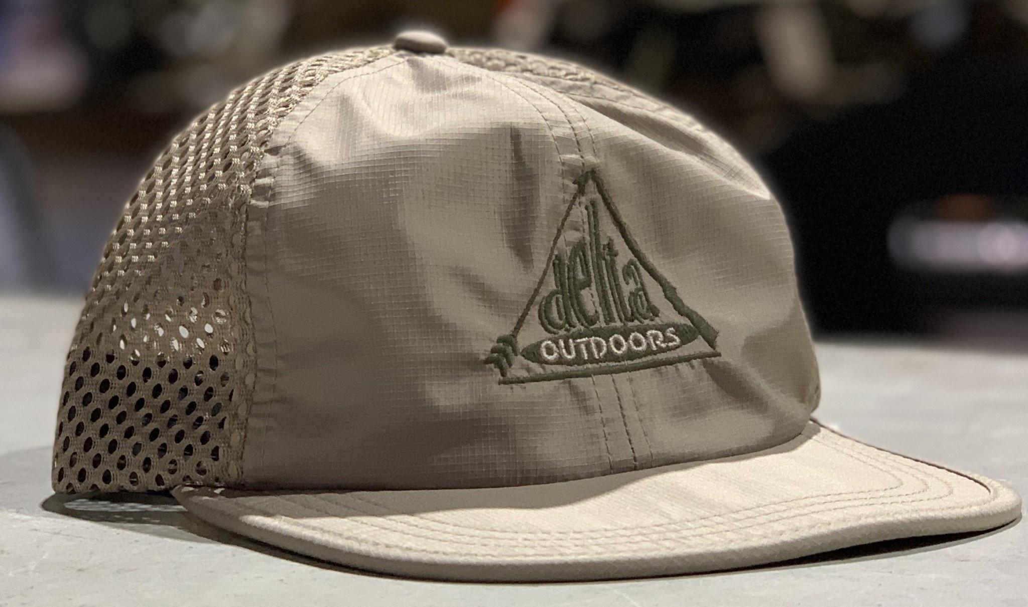 Delta Outdoors Crushable Khaki Cap-1