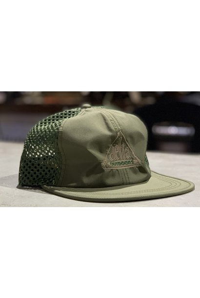 Delta Outdoors Crushable Olive Green Cap