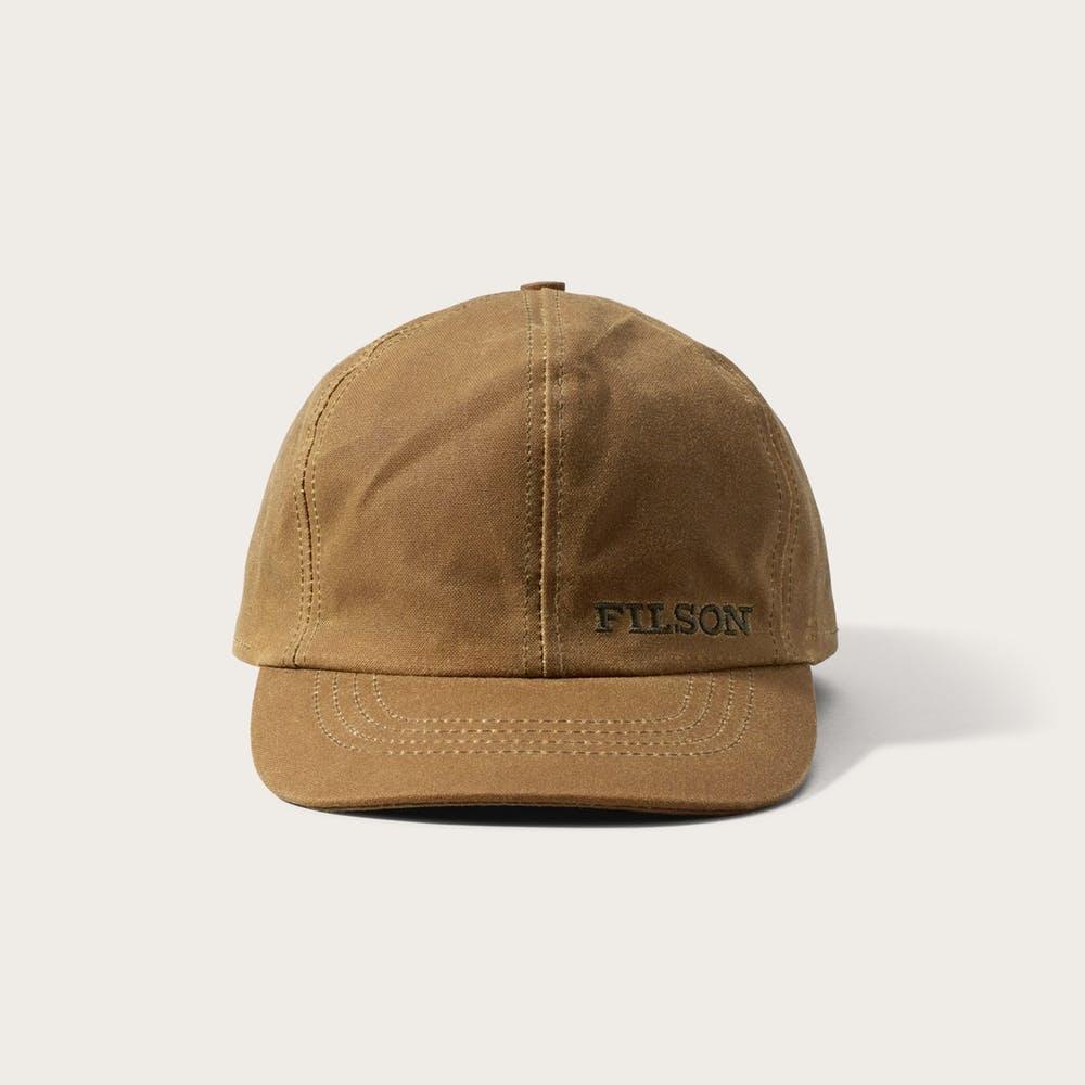 Insulated Tin Cloth Cap Dark Tan-1