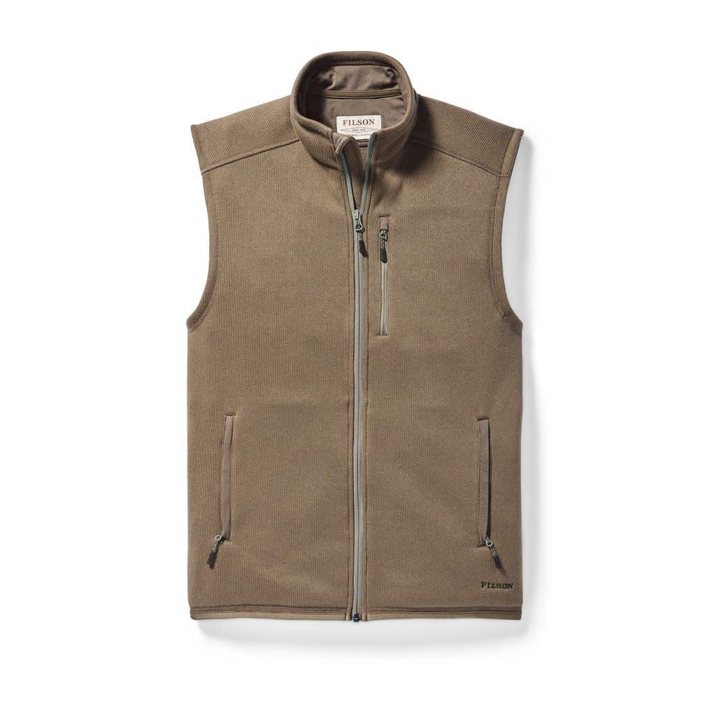 Ridgeway Fleece Vest Field Olive-1