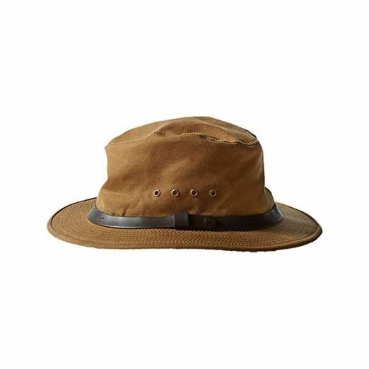 Tin Packer Hat Dark Tan-1
